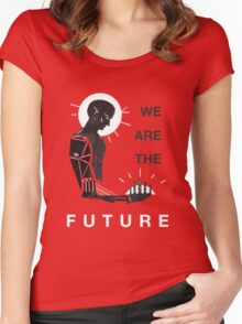 DEUS EX WE ARE THE FUTURE Women's Fitted Scoop T-Shirt