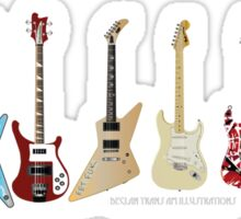 GUITARS Sticker