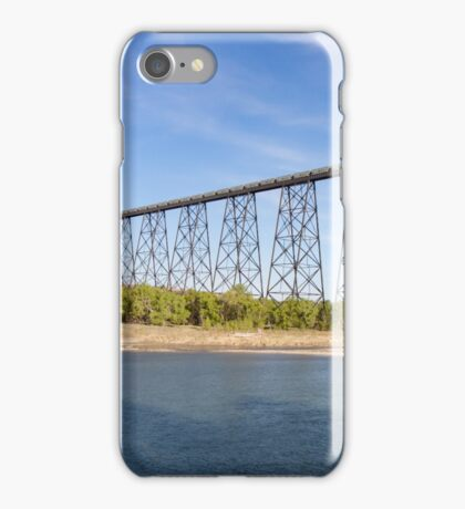 Potsah Cars Crossing the High Level Bridge iPhone Case/Skin