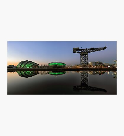 Clyde Civil Twilight  Photographic Print