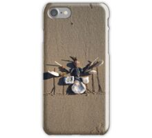 This guy ROCKS! - Drummer iPhone Case/Skin