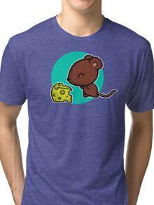 Cute Mouse Tri-blend T-Shirt