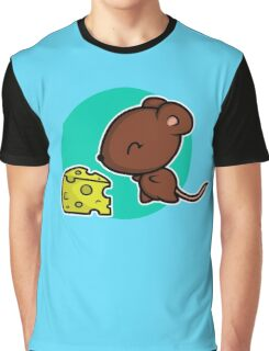 Cute Mouse Graphic T-Shirt