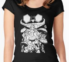 Alice in Wonderland // Sci-fi Women's Fitted Scoop T-Shirt
