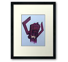 helmet of galactus Framed Print