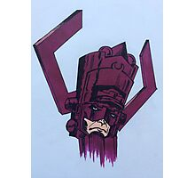helmet of galactus Photographic Print