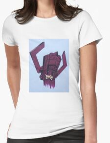 helmet of galactus Womens Fitted T-Shirt