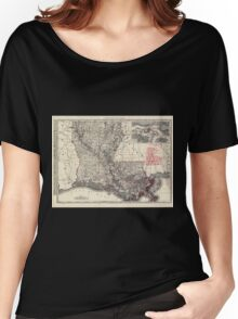 0123 Railroad Maps Women's Relaxed Fit T-Shirt
