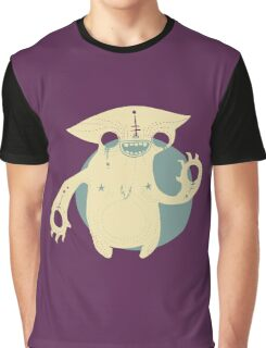Monster Cat Graphic T-Shirt