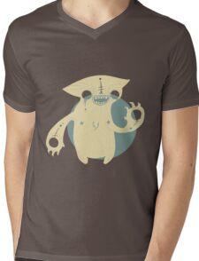 Monster Cat Mens V-Neck T-Shirt