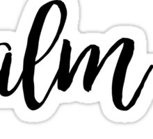 Psalm 34 Sticker