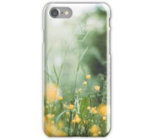 Buttercups Amongst The Foliage iPhone Case/Skin