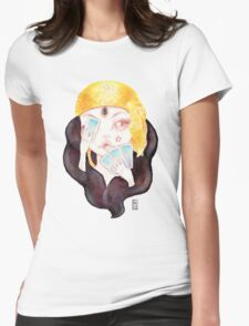 Tarot Gypsy Girl Womens Fitted T-Shirt