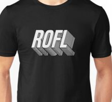 Rolling on the floor laughing Unisex T-Shirt