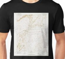USGS TOPO Map Arizona AZ Mexican Water 312339 1968 24000 Unisex T-Shirt
