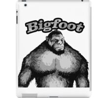 Bigfoot Black and White iPad Case/Skin