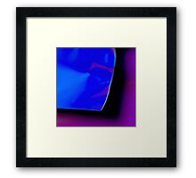Blue Edge Framed Print