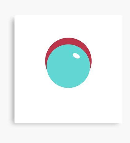 Simplistic Bubble Canvas Print