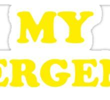 Wanna Be My Emergency Contact? Sticker