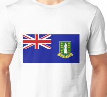 British Virgin Islands Flag Unisex T-Shirt