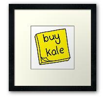 Buy Kale Framed Print
