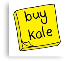 Buy Kale Canvas Print
