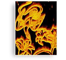 Phoenix Aflame Canvas Print