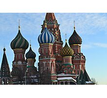 St Basil's Cathedral Photographic Print