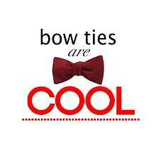 Doctor Who - Bow Ties Are Cool by hellafandom