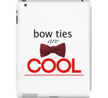 Doctor Who - Bow Ties Are Cool iPad Case/Skin