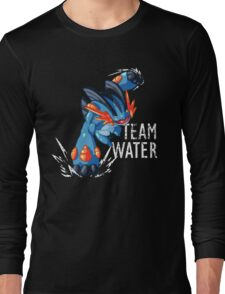 Team Water - Mega Swampert Long Sleeve T-Shirt