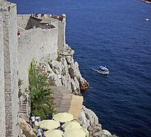 Welcome to Dubrovnik on the wall (click large) by John44