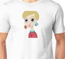 COLOURFUL TWIGGY BUST Unisex T-Shirt