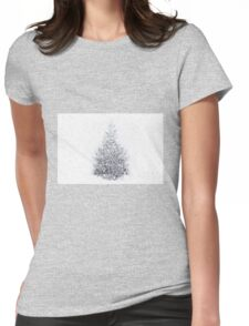 Snow Bound Womens Fitted T-Shirt