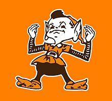 Johnny Manziel Cleveland Browns Elf Version 2 by GeraldGreen