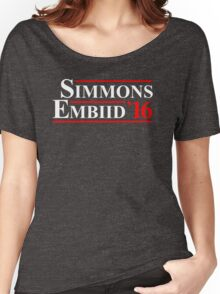 simmons embiid 2016 Women's Relaxed Fit T-Shirt