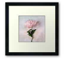 Pretty Pink Mum Framed Print