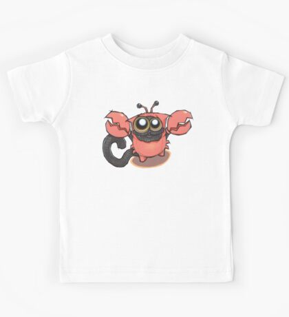 Signs of the ZODICAT - Cancer: The crabby kitty Kids Tee