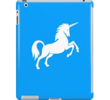 Unicorn, Heraldry, Horse, Legend, Myth, Mythology, Tale, Story, fable, fiction, folklore, lore,  iPad Case/Skin