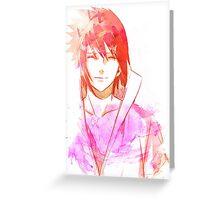 Aura Sasuke Uchiha  Greeting Card