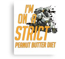 Did someone say Peanut Butter? Canvas Print