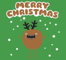 Funny Christmas Reindeer Kids Clothes