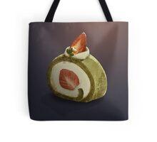 Dessert Doodle #03 Matcha Roll Cake Tote Bag