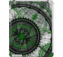 Abstract mechanical fractal iPad Case/Skin