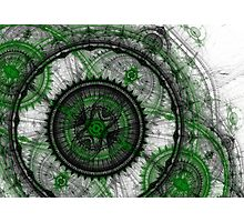 Abstract mechanical fractal Photographic Print