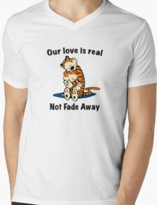Not Fade Away! Mens V-Neck T-Shirt