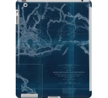 0075 Railroad Maps Rocky Mountains to Puget Sound from explorations and Inverted iPad Case/Skin