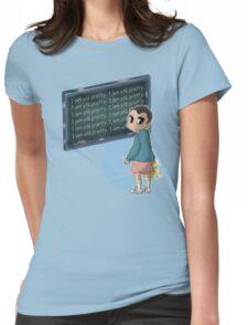Strange Detention Womens Fitted T-Shirt