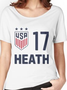 USWNT HEATH Women's Relaxed Fit T-Shirt