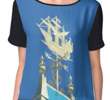 Peter Pan's ship Chiffon Top